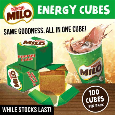 Milo Energy Cube 10 Pcs Snack Milo Bestseller qoo10 milo cube nestle drinks