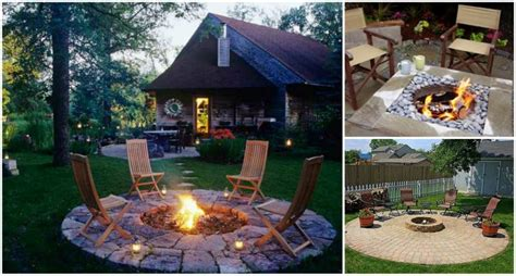 Stacked Stone Fire Pit 30 Diy Fire Pit Ideas And Tutorials For Your Backyard