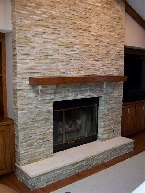 Pebble Tile Fireplace by The Tile Shop Navajo Stack Fireplace Fireplaces A Mood Setter In Any Climate