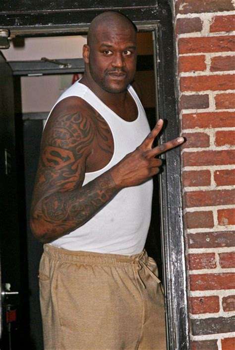shaquille o neal tattoos shaquille o neal photos photos tim mcgraw and shaquille