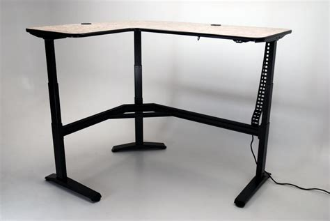 l shaped adjustable desk ergo l height adjustable l shaped desk martin ziegler