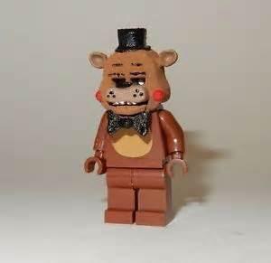 New lego custom printed fnaf toy freddy five nights at freddys