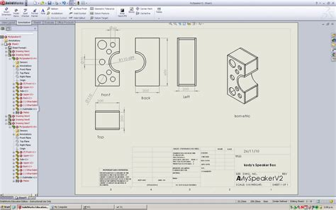 Solidworks Engineering Drawing At Getdrawings Com Free For Personal Use Solidworks Engineering Solidworks Drawing Template