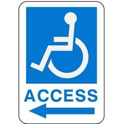 printable handicap parking signs free download clip art