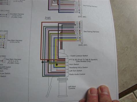 wiring diagram  street glide harley davidson forums
