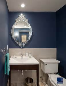 Powder Room Color Ideas Modern Urban Revival Traditional Powder Room Other