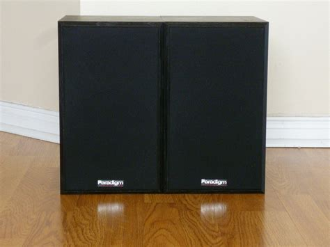 paradigm titan bookshelf speakers for sale for sale