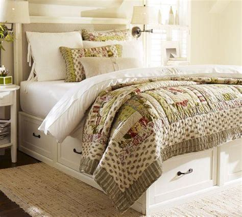 Pottery Barn Stratton Bed With Drawers by Stratton Bed With Drawers Pottery Barn