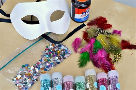 easy diy masks diy decorated masquerade mask you can make in minutes