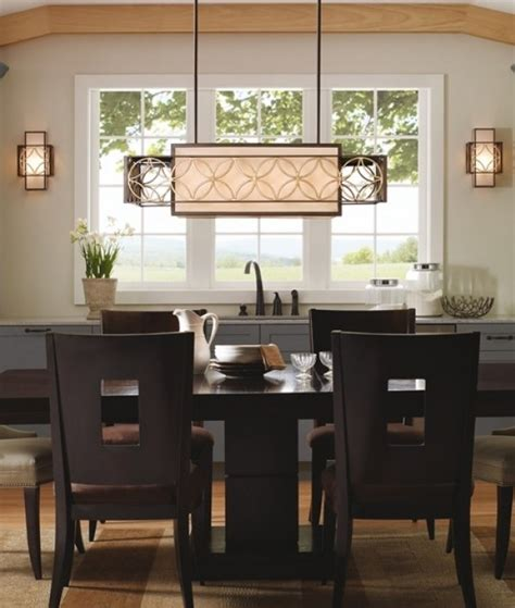 decorating ideas lighting dining room