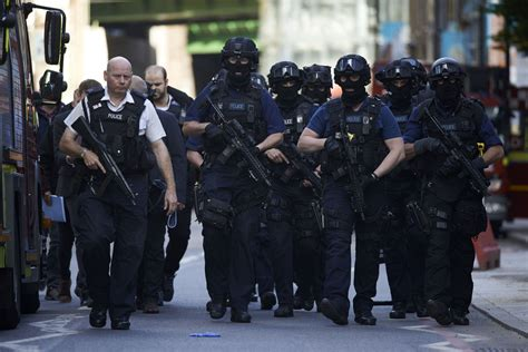 cops armed in riot gear arrive at walmart fewer visiting uk tourist attractions due to terror