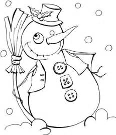 Snow Puppet Coloring Pages Christmas Drawings To Print And Color For  sketch template