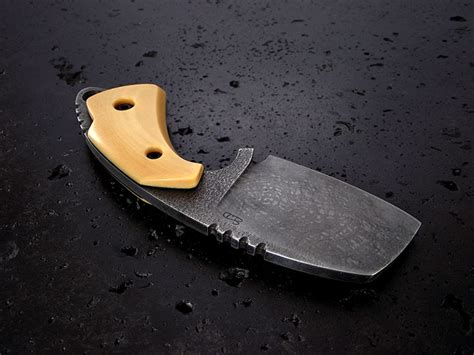 Handmade Neck Knives - custom neck knife 226