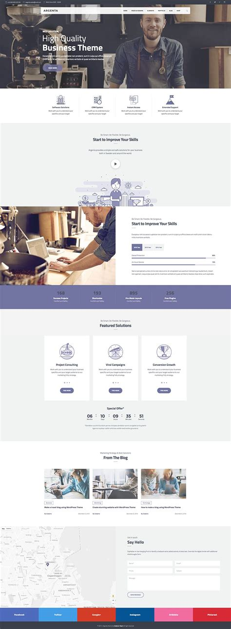themes wordpress creative free argenta creative multipurpose wordpress theme wpexplorer