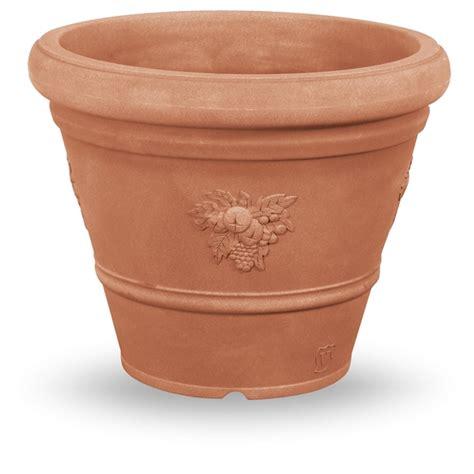 vasi in vetroresina da esterno vaso rotondo 50cm vasi plastica vendita fiori e