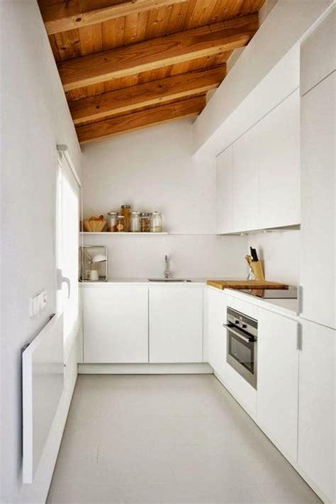 cuisine longueur cuisine amnage en longueur une cuisine pratique et with