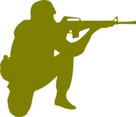 Soldier Drawing Outline by Soldier Clip At Clker Vector Clip Royalty Free Domain