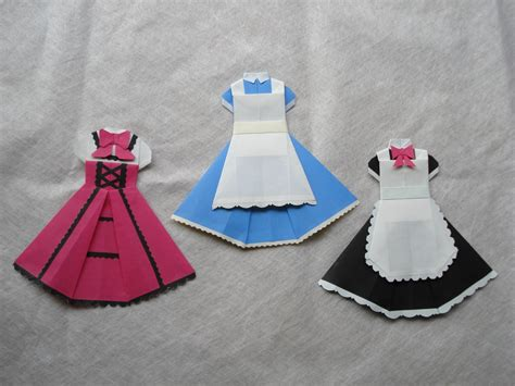 How To Make Paper Doll Dresses - 1000 images about origami doll clothes on