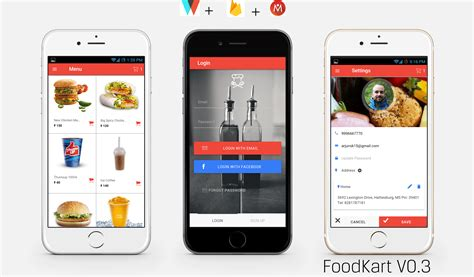 Android App Design shopping cart app appbackyard 200 mobile app templates