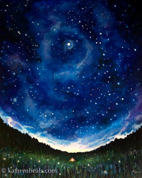 watercolor tutorial night sky finished night sky painting wonder how i paint