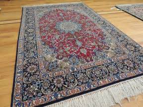 Ebay Antique Persian Rugs Semi Antique Persian Isfahan 3x5 4x6 Oriental Rug Wool