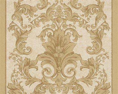 Wallpaper Sticker 10 Meter Vintage Style Merah Gold wallpaper baroque gold as creation versace 96216 5