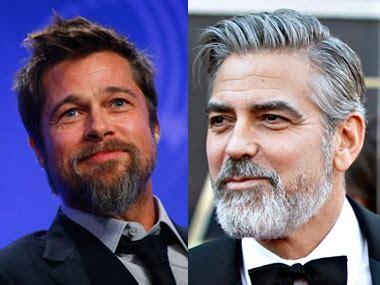 Brad Pitt George Clooney Do Entertainment Weekly by Brad Pitt George Clooney Raise A Toast For Their Nuptials