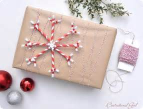 What do you think of using brown paper for wrapping christmas presents