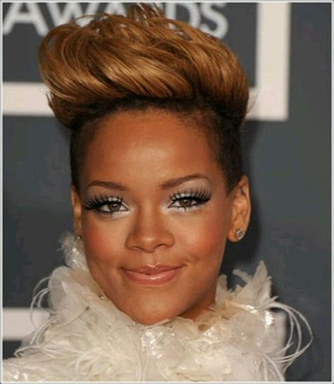 Rihanna Mohawk Hairstyles by Amazing Rihanna Hairstyles And Haircuts Random Talks