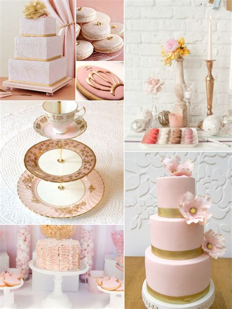 pink gold wedding pink gold wedding colors weddings by lilly