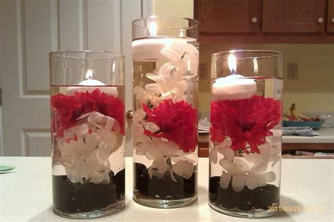 wedding centerpieces with floating flowers flower floating candle centerpiece v2 weddingbee photo gallery