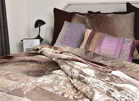 Velvet Patchwork Comforter - discontinued kevin obrien studio bedding velvet mosaic