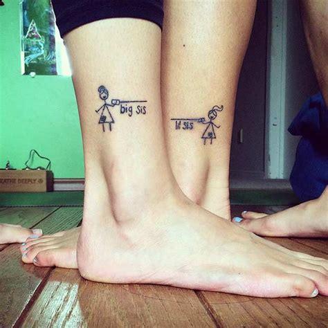 big sis little sis tattoos big idea creativefan