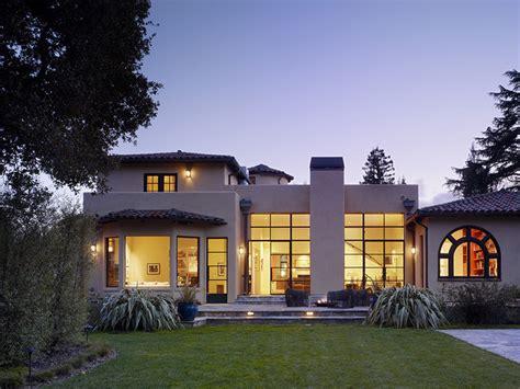 house design modern mediterranean menlo park residence mediterranean exterior san
