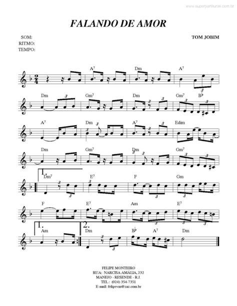 despacito harpa super partituras falando de amor tom jobim com cifra