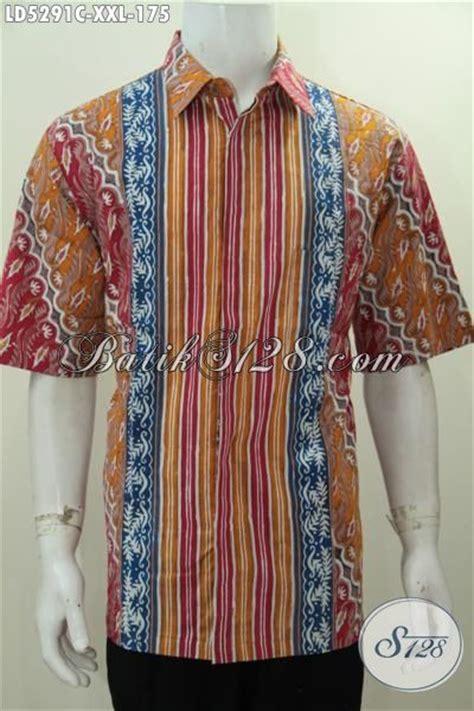 desain baju batik pria elegan busana batik jumbo 3l buat pria dewasa berbadan gemuk