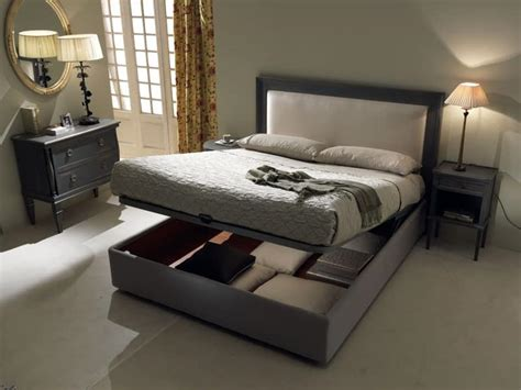 bed with box bed with storage box padded headboard idfdesign
