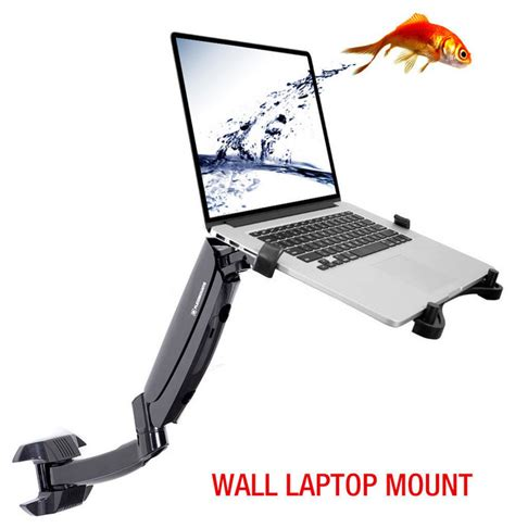 swing arm laptop table fleximounts 2 in 1 laptop wall mounts swing lcd arm for 11