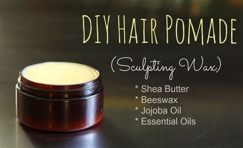Pomade Cook Grease how to make hair pomade going evergreen