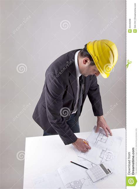 Architect Work Architect At Work Royalty Free Stock Photos Image 20440298
