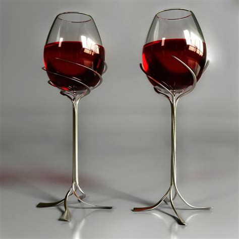 awesome wine glasses fashion arrivals unique and stylish wine glasses designs 2014
