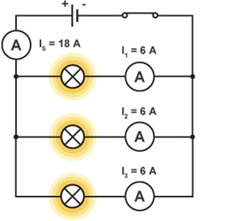 why resistors connected in parallel are called current dividers bitesize national 5 physics practical electrical and electronic circuits revision 3