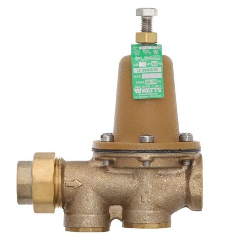 Bath And Kitchen Design by Watts 3 4 In Brass Fpt X Fpt Pressure Reducing Valve 3 4