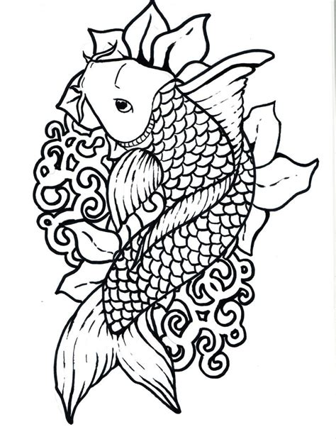 9 color by numbers coloring book of koi fish an color by numbers japanese koi fish carp coloring book color by number coloring books volume 9 books koi fish coloring page cliparts co