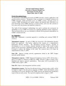 Policy Summary Template by Audit Summary Template Masir