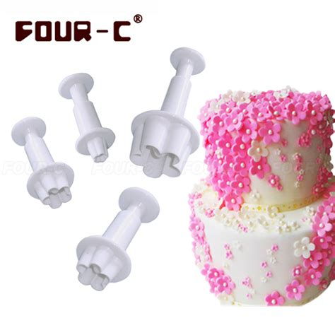 Coupons For Home Decorators blossom plastic sugarcraft fondant plunger cake cutters