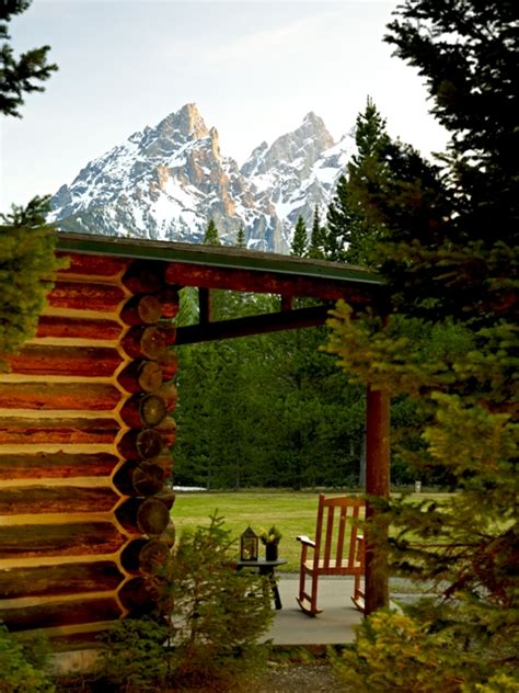 Jackson Lake Cabins by Lake Lodge Grand Teton National Park Wyoming
