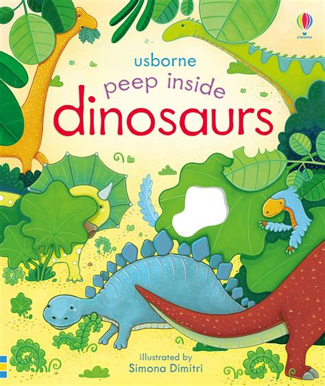 dinosaurs a introduction introductions books peep inside dinosaurs at usborne children s books