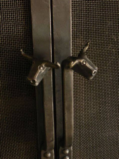 fireplace door handle 1627 best images about blacksmithing on