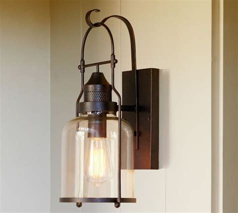Pottery Barn Outdoor Lights 1000 Images About Lighting Ideas On Pinterest Glass Pendants Sconces And Glass Pendant Shades